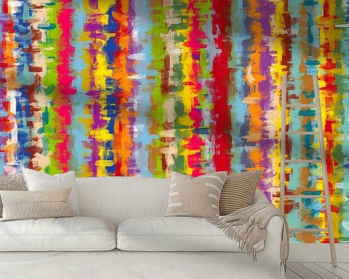 Sfeerimpressie behang: Verf van Marion Tenbergen