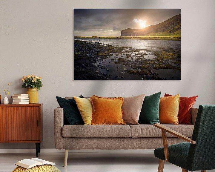 Sfeerimpressie: Skogafossrivier van Edwin van Wijk