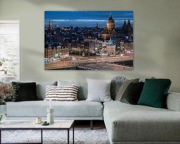 Amsterdam Skyline von Scott McQuaide
