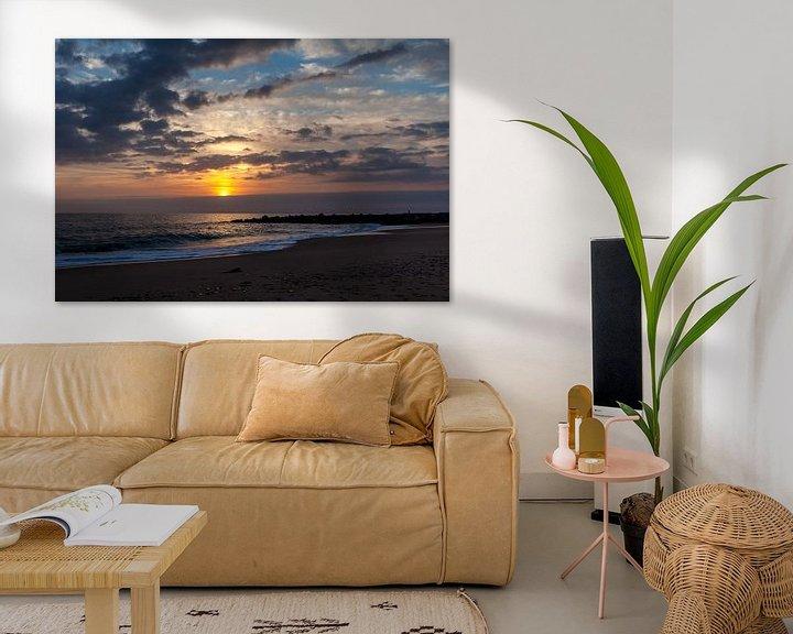 Sfeerimpressie: Zonsondergang Algarve van Elly Damen