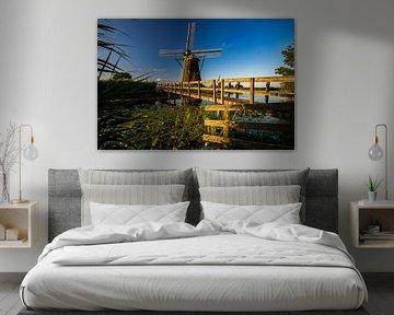 Hollandse molen sur René Groenendijk