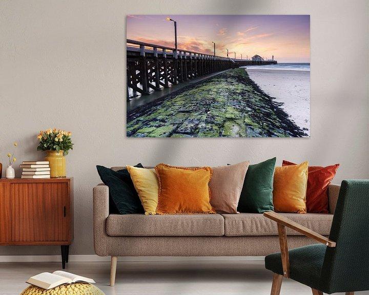 Sfeerimpressie: Blankenberge havenpier van Sander Poppe