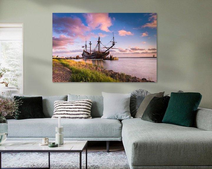 Sfeerimpressie: Batavia schip van Sander Poppe