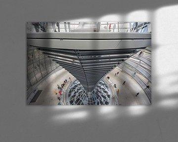 Kuppel auf dem Reichstag in Berlin von Foto Amsterdam / Peter Bartelings