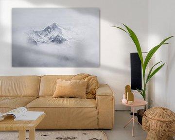 Top van de berg  van A Photo Wall