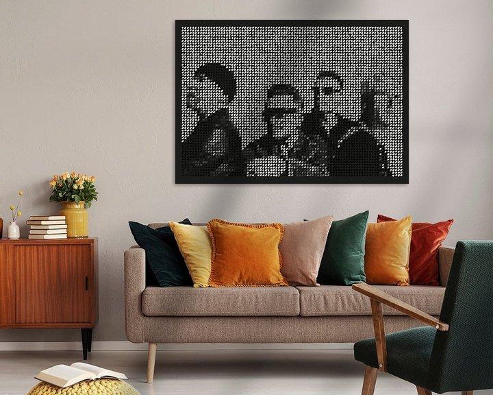 Beispiel: U2 digital dots and pop art von Color Square