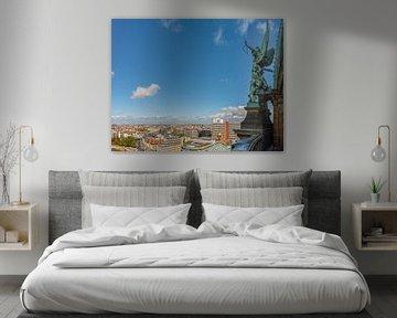 Panorama Berlin vom Dom aus von Foto Amsterdam / Peter Bartelings
