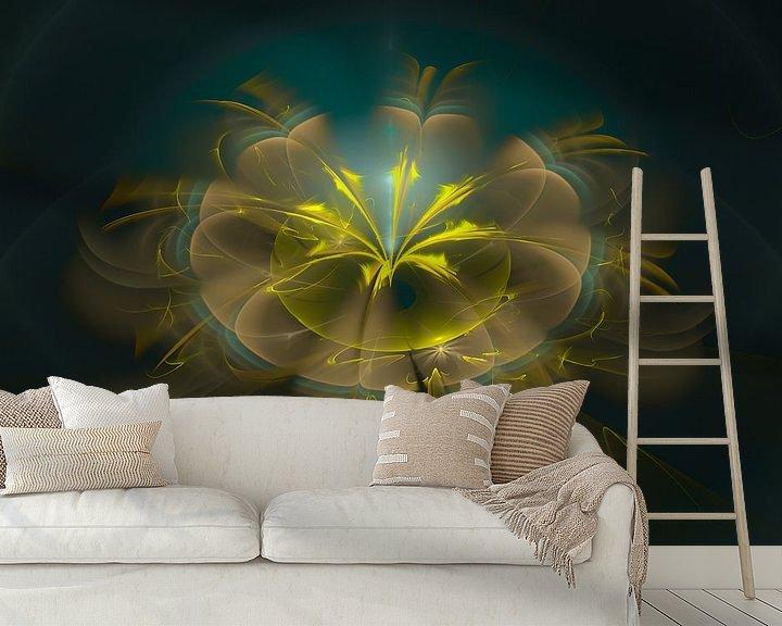 Sfeerimpressie behang: Golden flavour van Bernardine de Laat