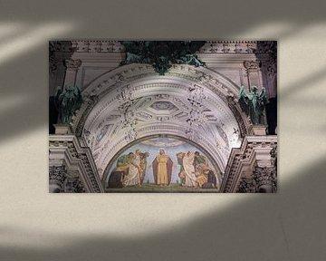 Der Haupteingang zum Berliner Dom von Foto Amsterdam / Peter Bartelings