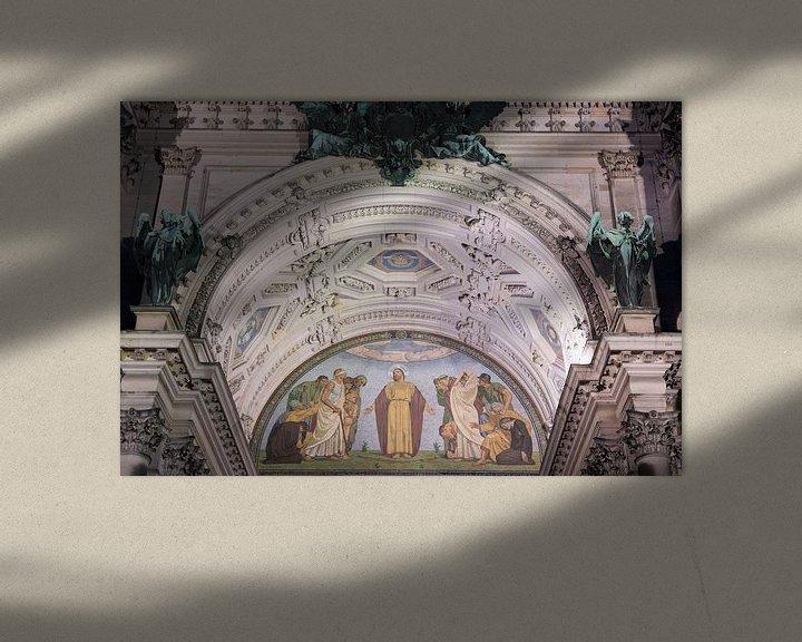 Sfeerimpressie: Hoofdingang Dom van Berlijn van Foto Amsterdam / Peter Bartelings