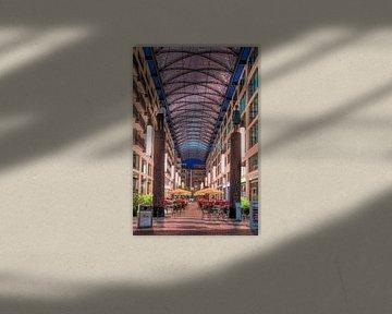 Overdekte hal in Berlijn