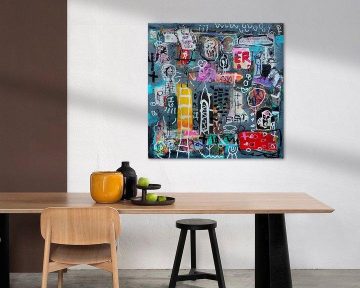 """Sfeerimpressie: Collage """"Luister naar je innerlijke stem"""" van Ina Wuite"""