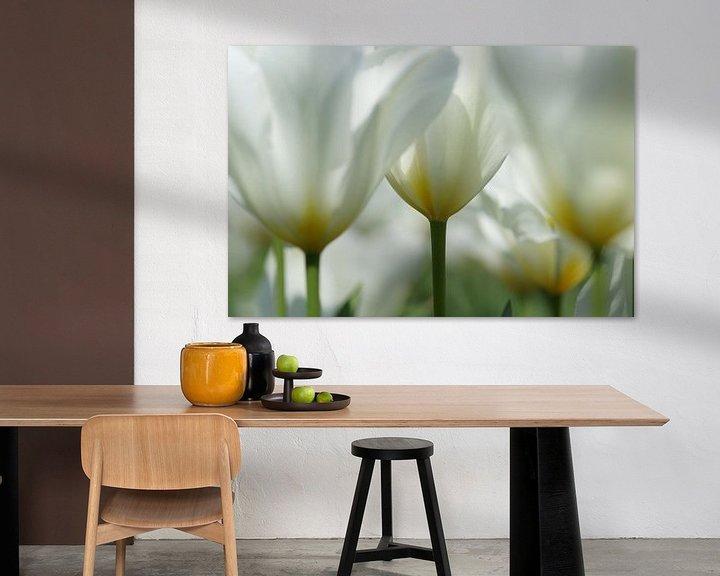 Sfeerimpressie: Witte tulpen van Carla Mesken-Dijkhoff