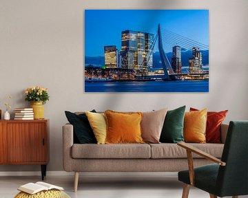 Erasmusbrug De Rotterdam