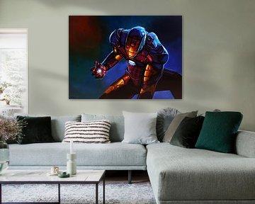 Iron Man Schilderij sur Paul Meijering