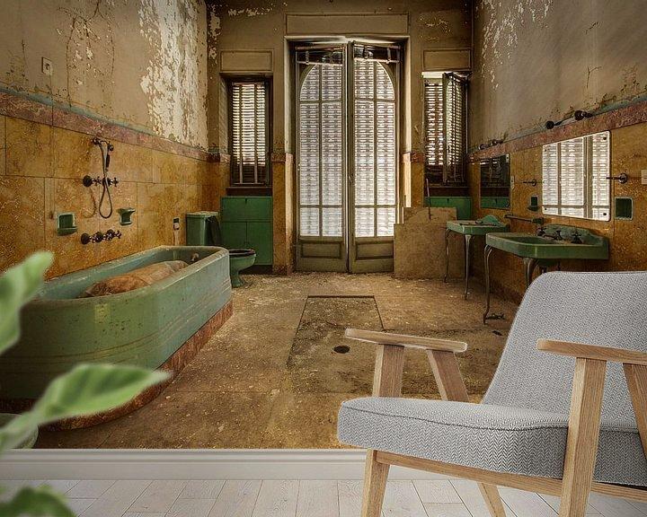 Beispiel fototapete: Needing a bath? von Anya Lobers