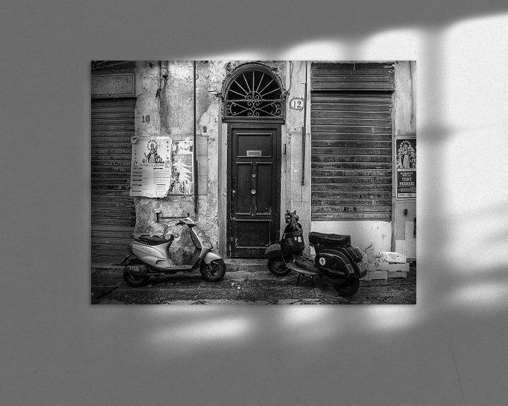 Sfeerimpressie: Deur naar Palermo, Sicilië (Italië) van Nick Hartemink