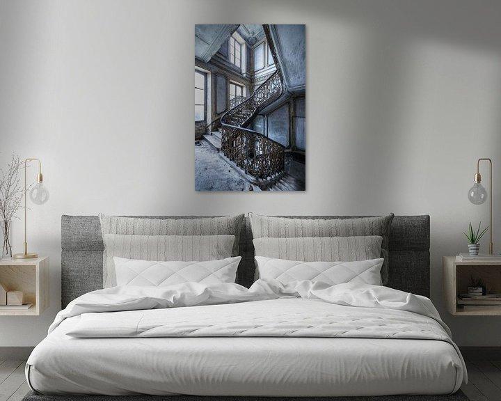 Beispiel: Magnificent Treppe in verlassenen Villa von Inge van den Brande