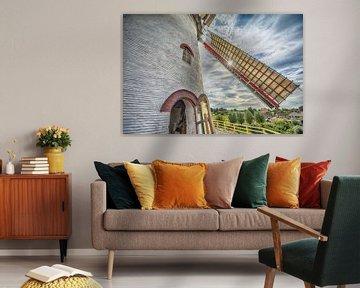 Hollandse molen van Foto Amsterdam / Peter Bartelings