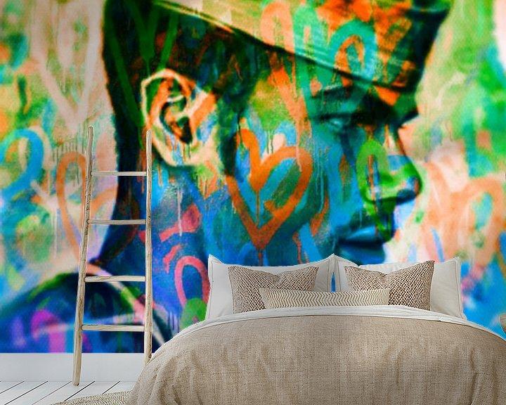Sfeerimpressie behang: Hommage Jean Paul Gaultier  van Felix von Altersheim