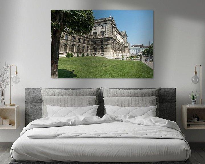 Beispiel: Hofburg Keizerlijk paleis in Oostenrijk Wenen von Raymond Schrave