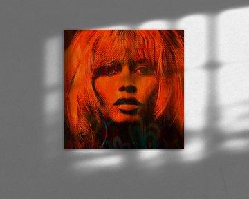 Love Brigitte Bardot Pop Art PUR van Felix von Altersheim
