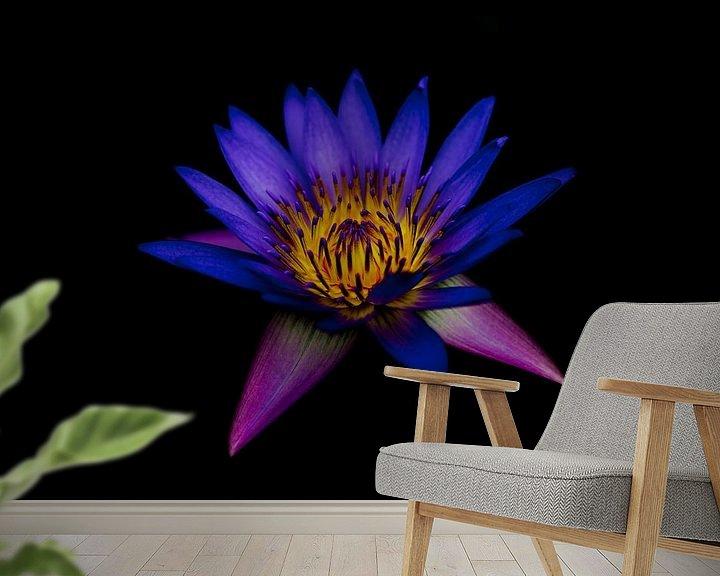 Sfeerimpressie behang: Purple van Mike van den Brink
