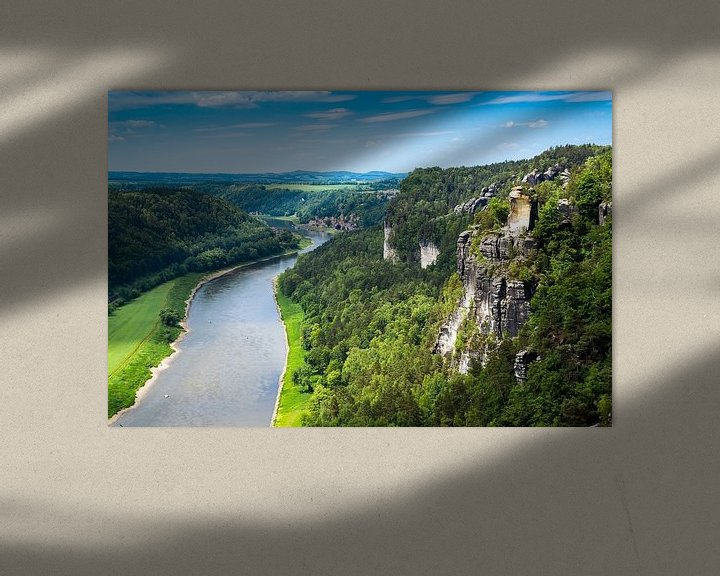 Sfeerimpressie: Saksisch Zwitserland van Reiner Würz / RWFotoArt