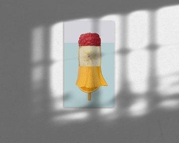 fruitijsje banaan framboos van moma design