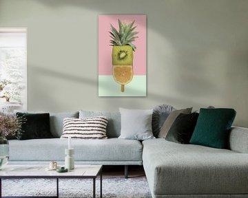 fruitijsje ananas kiwi von moma design