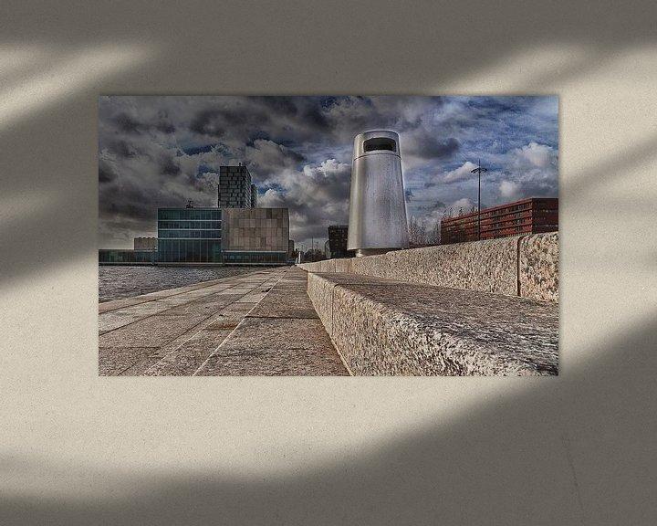 Sfeerimpressie: Almere Dustbin #001 van Michiel Leegerstee