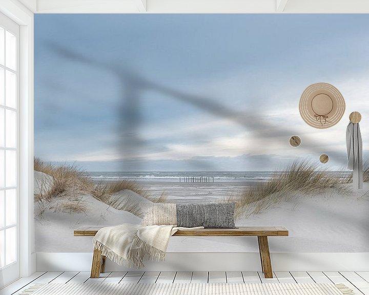 Beispiel fototapete: Die Dünen bieten uns Schutz gegen das Meer. von Sigrid Westerbaan