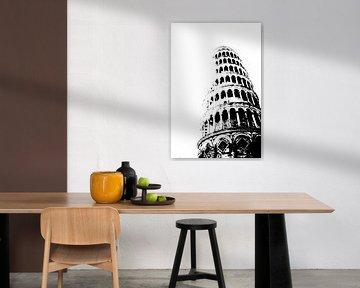 Toren van Pisa van Jessica van den Heuvel