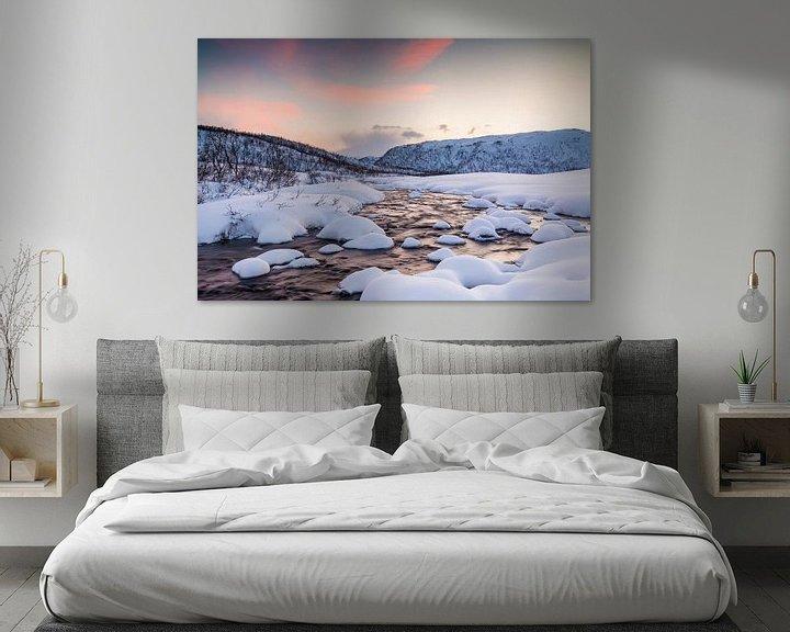 Sfeerimpressie: Ijsvallei van Sander Meertins