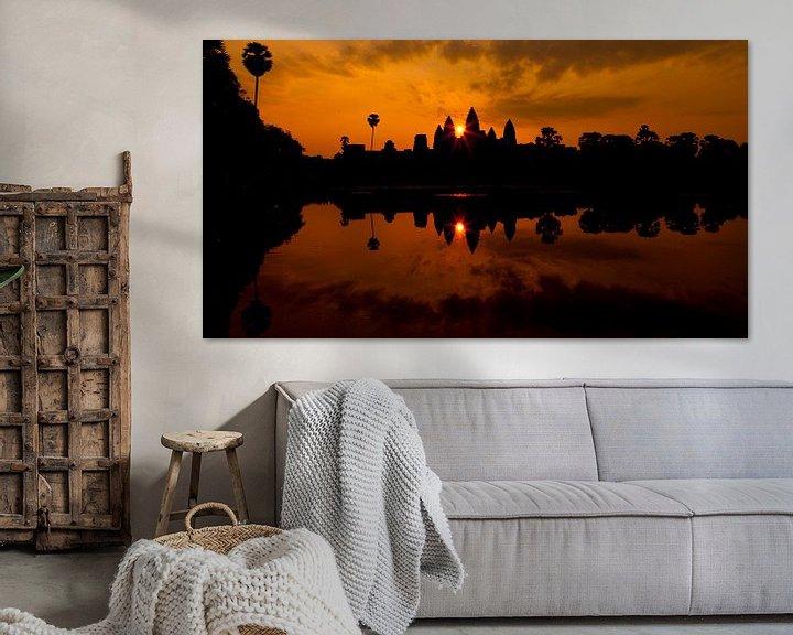Sfeerimpressie: Angkor wat van Mike van den Brink