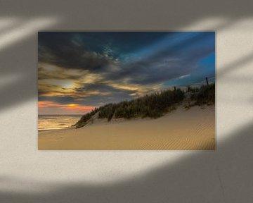 het kleurrijke duin von Frans Bruijn