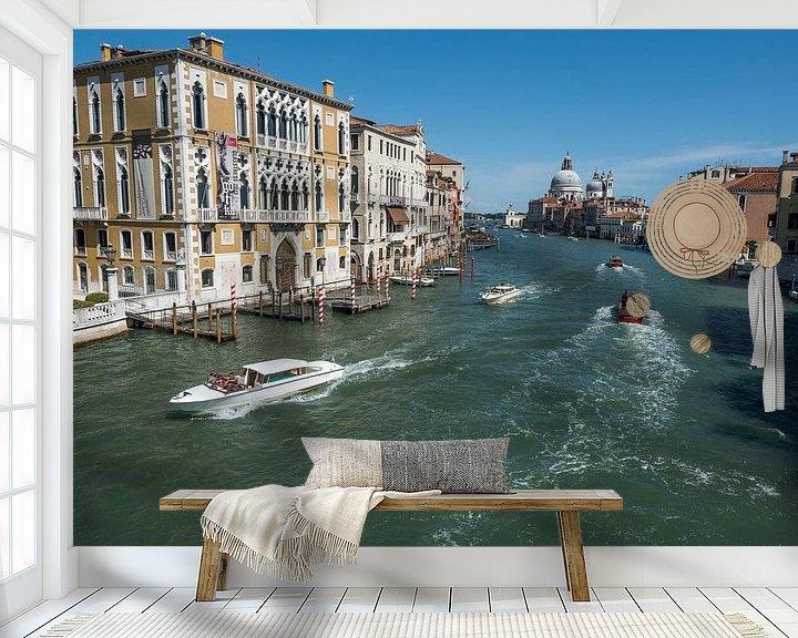 Beispiel fototapete: Grote kanaal Venetie von Raymond Schrave