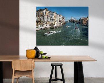 Grote kanaal Venetie van Raymond Schrave