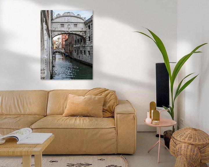 Beispiel: Brug der Zuchten, Ponte dei Sospiri von Raymond Schrave
