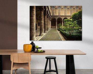 Rome, Italië - Historische Galerij. van WWC Fine Art Photography