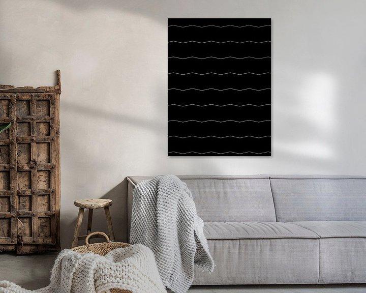 Sfeerimpressie: Graphic Pattern N.6 van Olis-Art