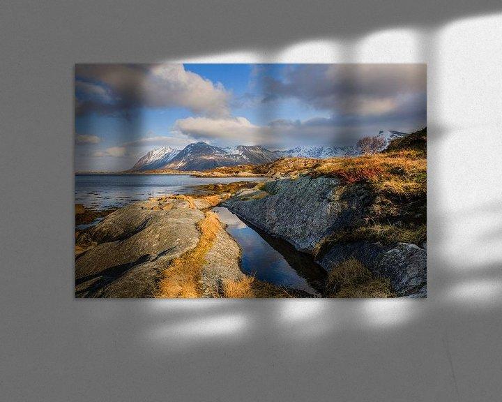Sfeerimpressie: Winterlicht op de Lofoten van Karla Leeftink