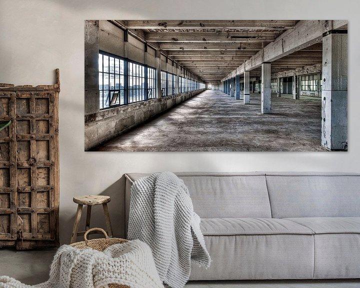 Sfeerimpressie: Strijp-S Eindhoven - gebouw Anton voor de renovatie van Bas Wolfs