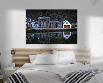 Noorse huisjes  van Jasper den Boer