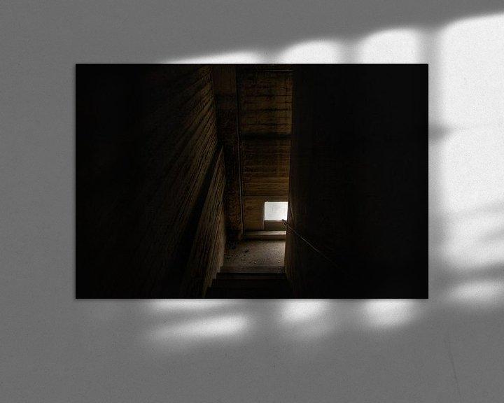 Beispiel: Een enge verlaten trap von Melvin Meijer