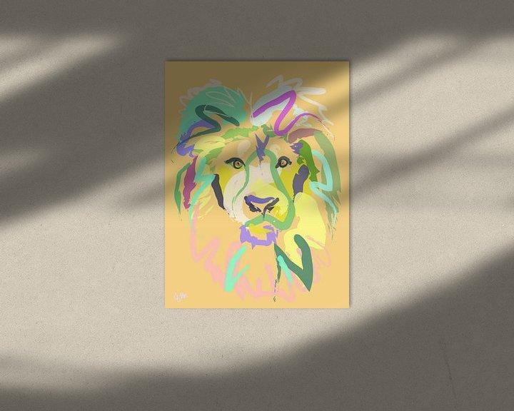 Beispiel: Löwe von Go van Kampen