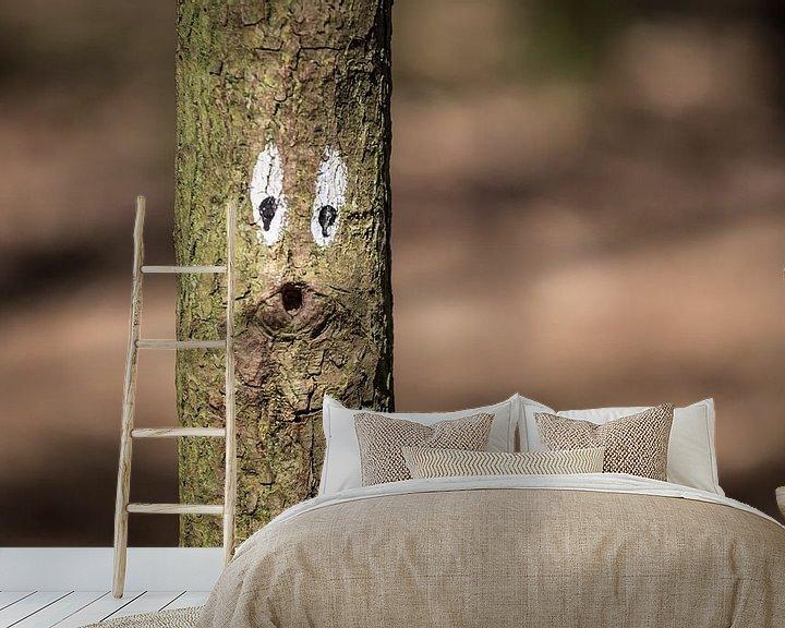Sfeerimpressie behang: Ow boom :) van Martijn van Dellen