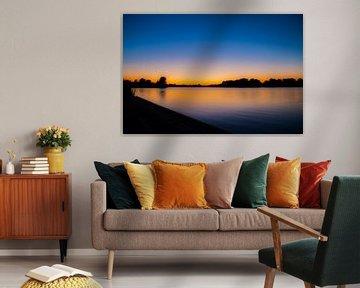 Zonsondergang Gaasperplas von Otof Fotografie