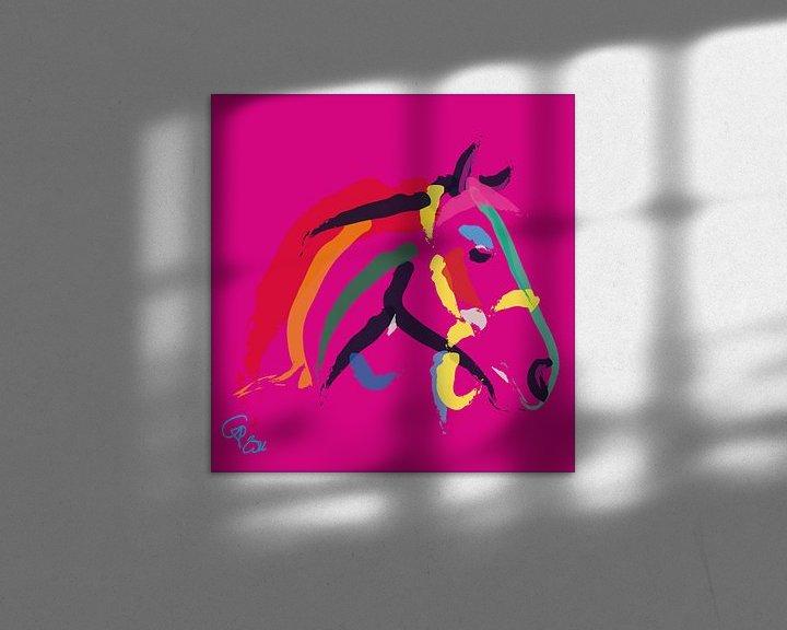Beispiel: Pferde Color Me Strong von Go van Kampen