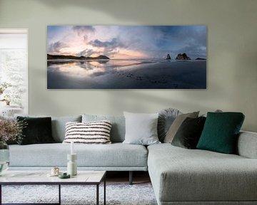 Wharariki Strand von Maarten Mensink